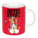 Könitz Becher Lucky Luke - Coffee Break