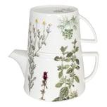 Könitz Tea For Me Kräuter Kanne mit Deckel und Becher