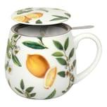 Könitz My Favourite Tea Schwarzer Tee Kuschelbecher mit Sieb und Deckel 420 ml