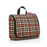 reisenthel toiletbag XL Glencheck Red 4 L