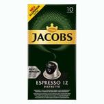 Jacobs Espresso 12 Ristretto 10 Kapseln