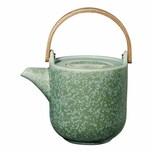 ASA Selection coppa Teekanne mit Holzgriff minto Mintgrün 1 L