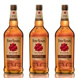 Four Roses Kentucky Straight Bourbon 40% 3x1 L