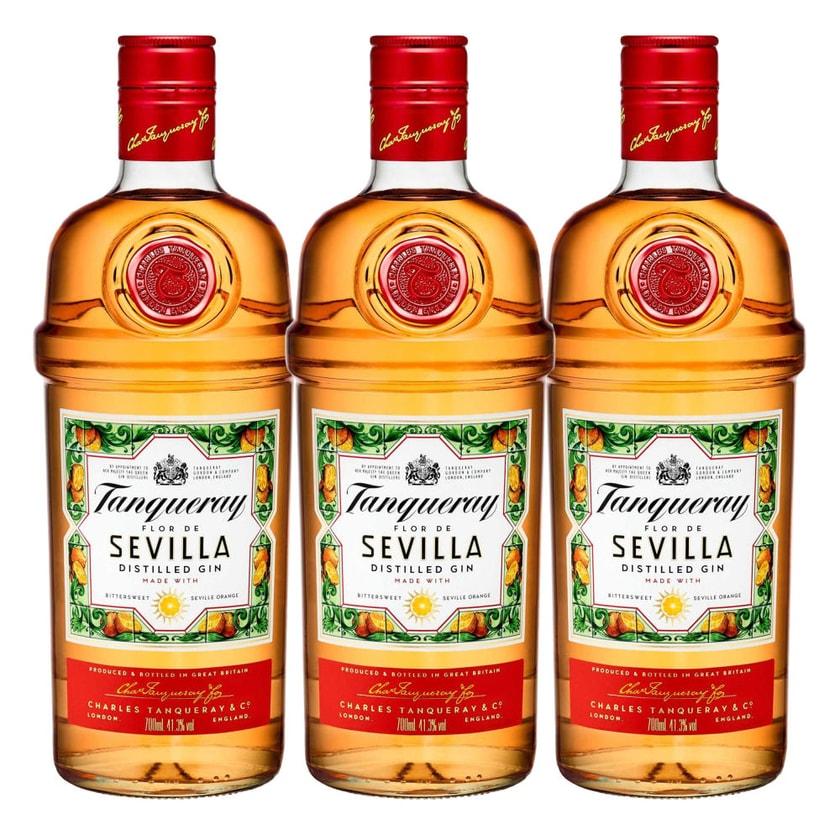 Tanqueray Flor de Sevilla 41.3% 3x700 ml