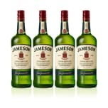 Jameson Irish Whiskey 40% 4x1 L