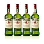 Jameson Irish Whiskey 40% 4x1 L