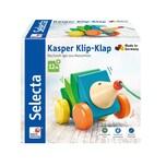 Selecta Spielzeug Kasper Klip-Klap Nachzieh Igel
