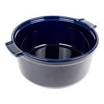 Peugeot Appolia Soufflé-Schale Blau 22 cm