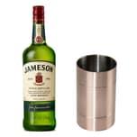 Jameson Irish Whiskey Set mit Jigger 40% 1 L