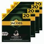 Jacobs Espresso 12 Ristretto 4 x 20 Kapseln