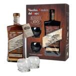 Vecchio Amaro Del Capo Riserva Box mit 2 Gläsern 37.5% 700 ml