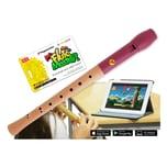 Voggenreiter Flute Master App mit Blockflöte Barocke Griffweise Holz-Kunststoff