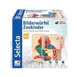 Selecta Spielzeug Bilderwürfel Zookinder