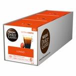 Nescafé Dolce Gusto Caffè Lungo, 3 x 16 Kapseln