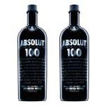 Absolut Vodka 100 50% 2x1 L
