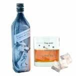 Johnnie Walker A Song of Ice mit graviertem Whiskyglas 40,2% 700 ml