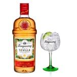 Tanqueray Flor de Sevilla mit Glas 41.3% 700 ml