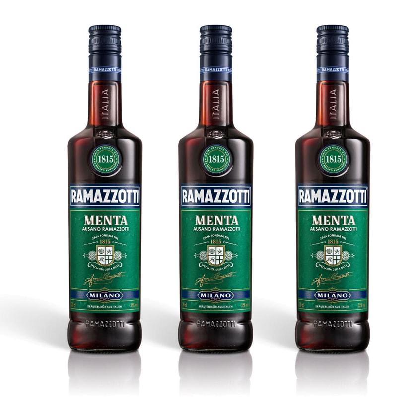 Ramazzotti Menta Kräuterlikör 32% 3x700 ml