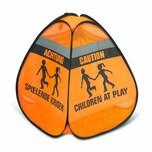 reer 3D-Straßenwarnschild Spielende Kinder