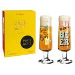 Ritzenhoff Beer Bierglas 2er Set 2021 Potts & Przybylska