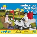 Cobi Bausteinset Youngtimer Collection Melex 212 Golf Set 24554