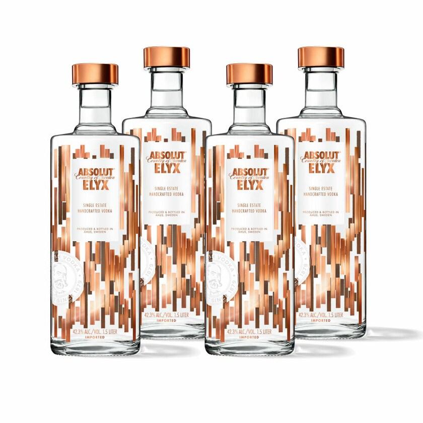 Absolut Vodka Elyx 42.3% 4x1.5 L