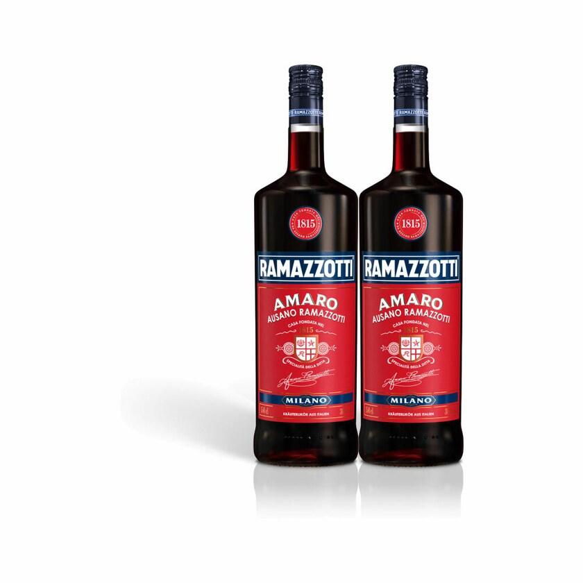 Ramazzotti Amaro Kräuterlikör 30% 2x1.5 L