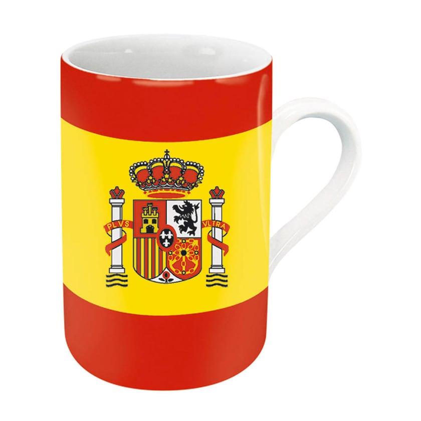 Könitz Flaggenbecher Spanien 310 ml