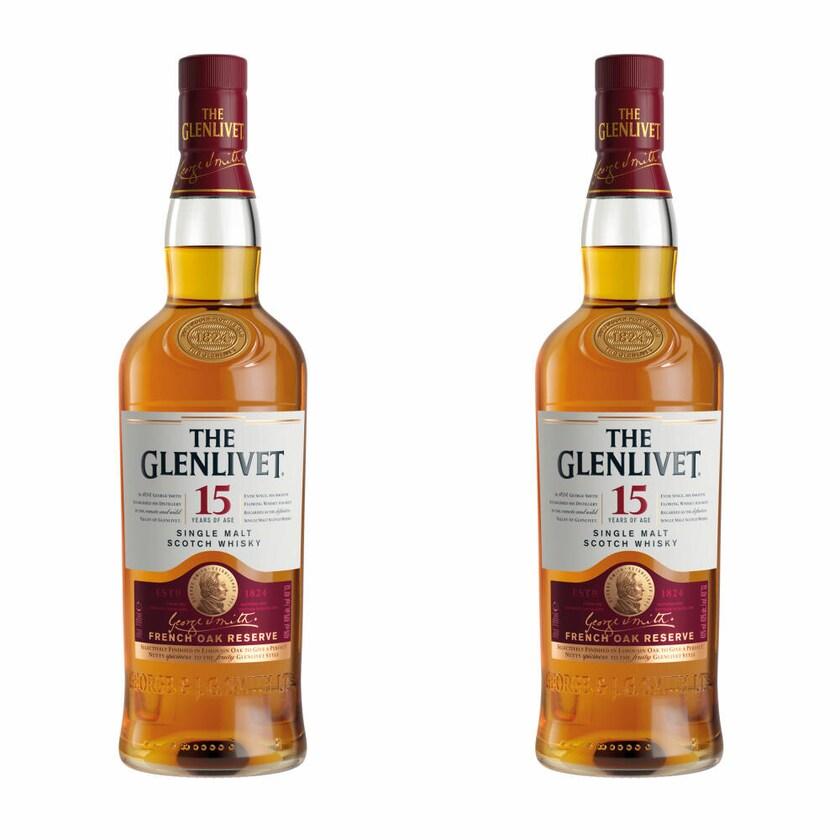 The Glenlivet 15 Jahre 40% 2x700 ml