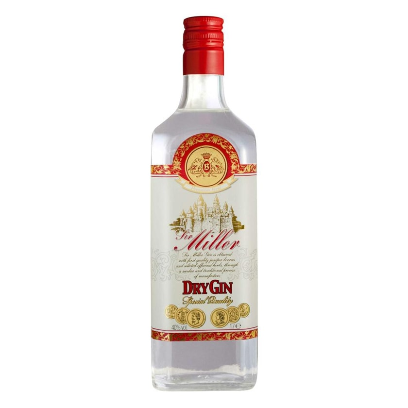 Caffo Sir Miller Dry Gin 40% 1 L