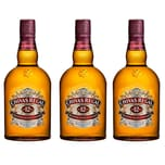 Chivas Regal 12 Jahre Blended Scotch Whisky 40% 3x1 L