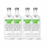 Absolut Vodka Lime 40% 4x1 L