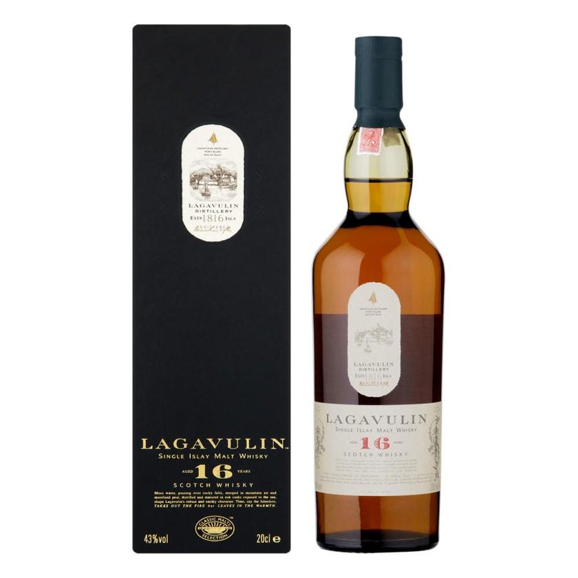 Lagavulin 16 Years Single Malt 43% 200 ml