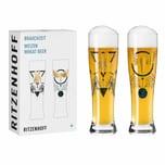 Ritzenhoff Weizenbiergläser Brauchzeit Weizen 2er-Set 003