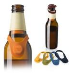 Vacu Vin Flaschenmarker & Stopfen Silikon 6er Set