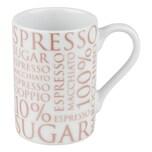 Könitz 100% Coffee Rosé White Minipresso Becher 90 ml