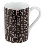 Könitz 100% Coffee Rosé Black Minipresso Becher 90 ml