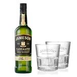 Jameson Caskmates Whiskey Stout Edition Geschenkset mit 2 Gläsern 40%700 ml