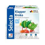 Selecta Spielzeug Klapper-Kroko
