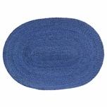 ASA Selection Makaua Tischset Oval Palme Geflochten Blau 46cm
