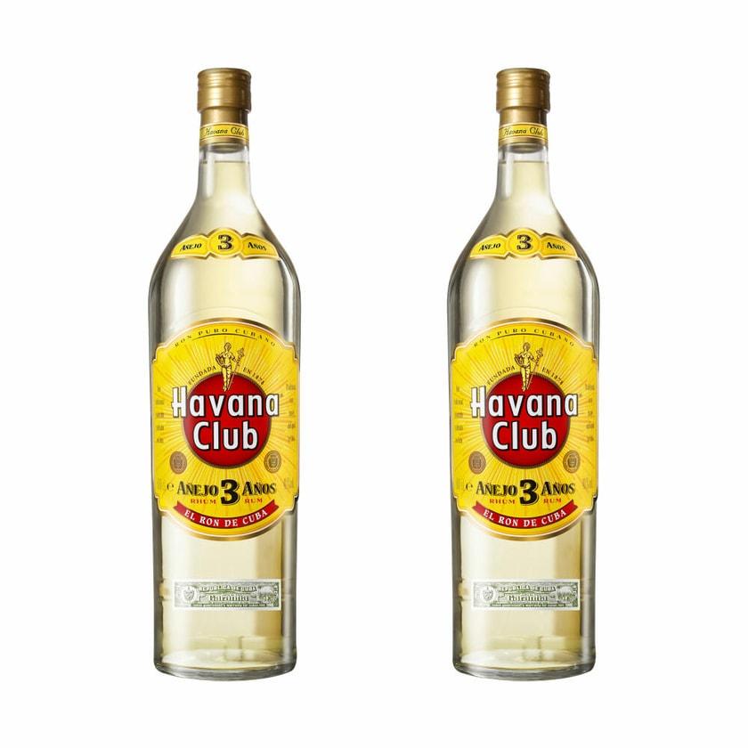 Havana Club Añejo 3 Años 40% 2x3 L