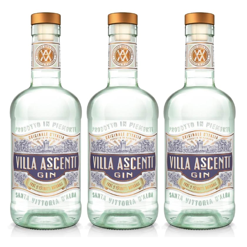 Villa Ascenti Gin 41% 3x700 ml