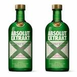 Absolut Vodka Extrakt 35% 2x700 ml