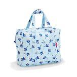 reisenthel mini maxi touringbag Leaves Blue 40 L