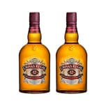 Chivas Regal 12 Jahre Blended Scotch Whisky 40% 2x1 L
