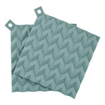 Rig-Tig Hold-On Topflappen Dusty Green 2-teilig