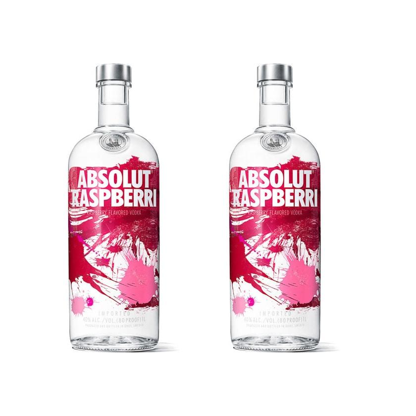 Absolut Vodka Raspbe 40% 2x1 L