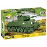 Cobi Bausteinset World War 2 M4A3E8 Sherman (Easy Eight) 2705