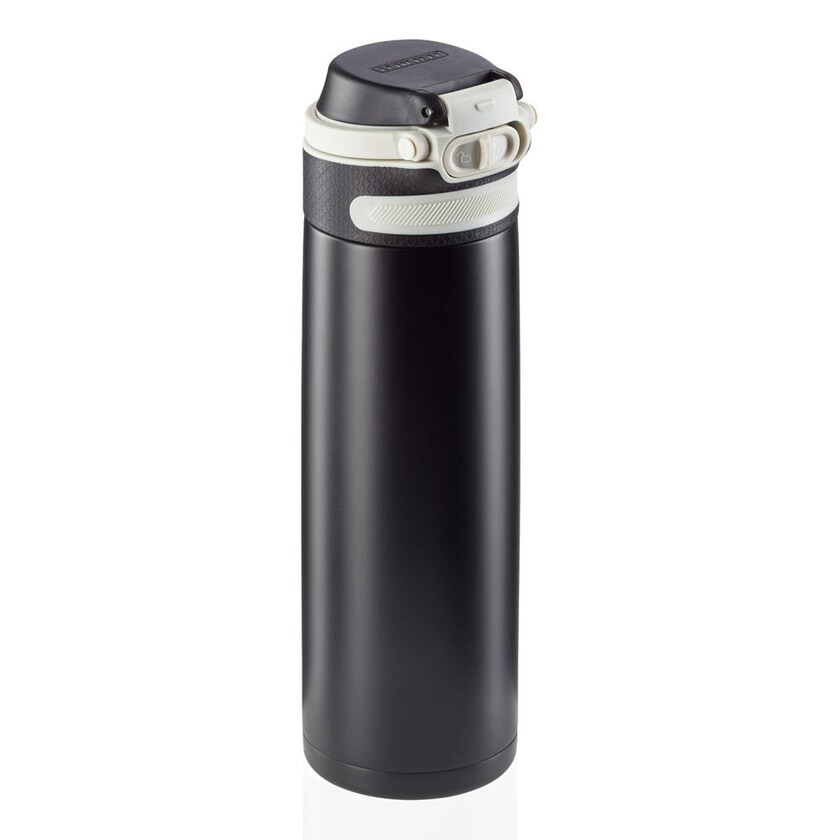 Leifheit Isolierbecher Flip black 600 ml