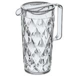 Koziol Crystal Kanne 1.6l Transparent Klar